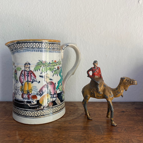 Vintage Lead Camel and Rider