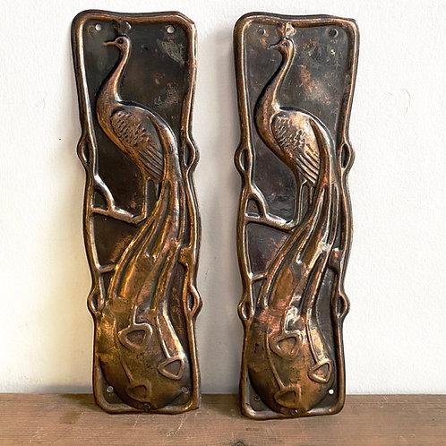 Art Nouveau Finger Plates