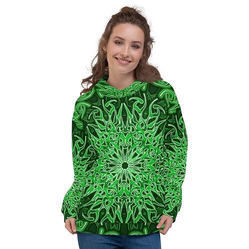 9X21 Spectrum Green Unisex Hoodie