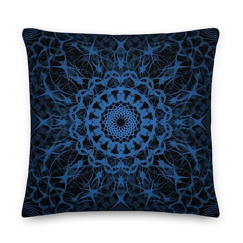23E21 Spectrum Aquamarine Premium Pillow
