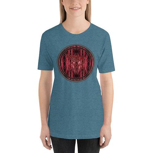 Pegasus Red Portal Short-Sleeve Unisex T-Shirt