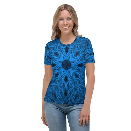 19P21 OddSpectrum Blue Women's T-shirt