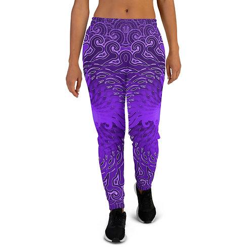 11Q21 OddSpectrum Violet Women's Joggers