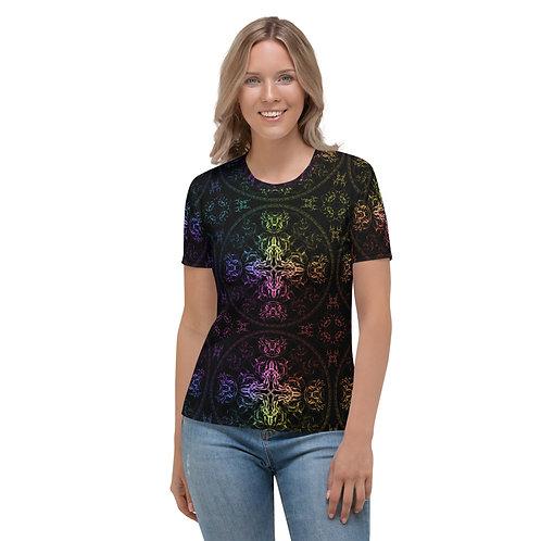 140 Wind Compass Colorwild Women's T-shirt