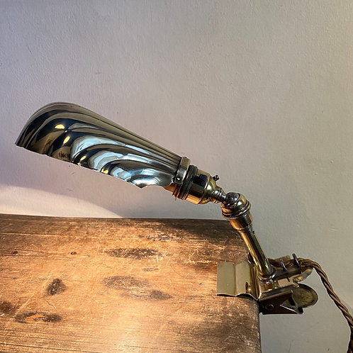 Early C20th Clip Lamp