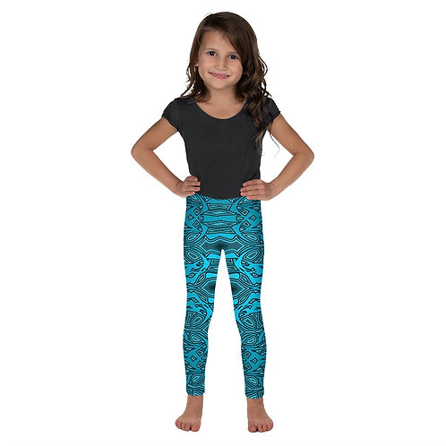 6Y21 Spectrum Blue Kid's Leggings
