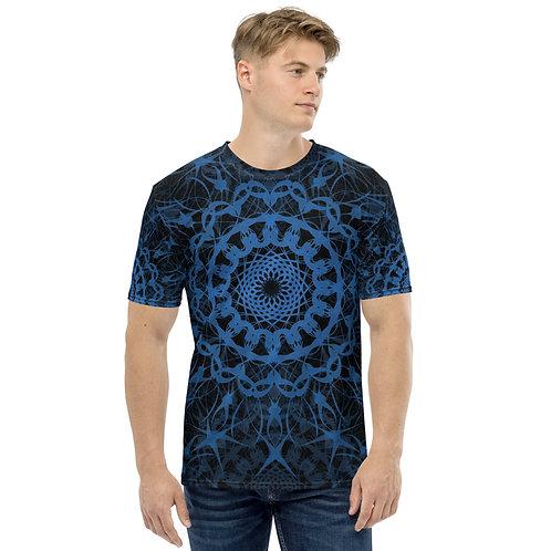 23E21 Spectrum Aquamarine Men's T-shirt
