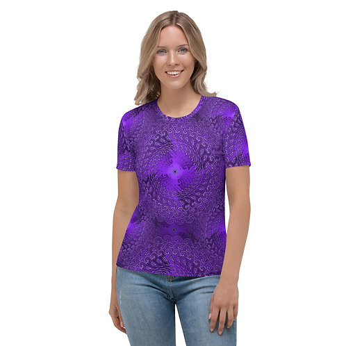 11Q21 OddSpectrum Violet Women's T-shirt