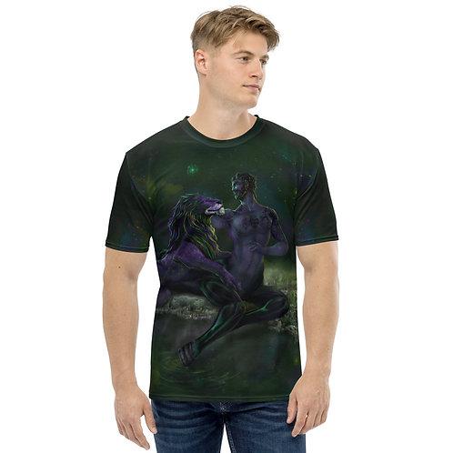 The Lion and the Centaur V5 Men's T-shirt