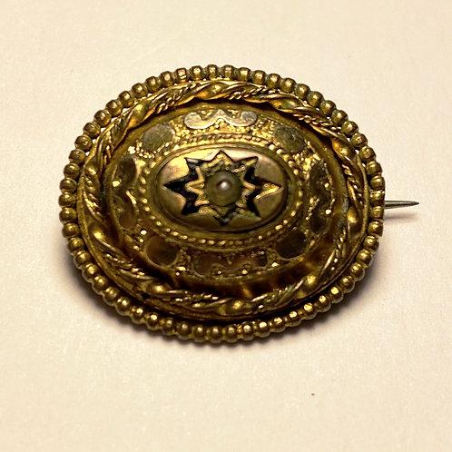 Tiny Vintage Pin Badge