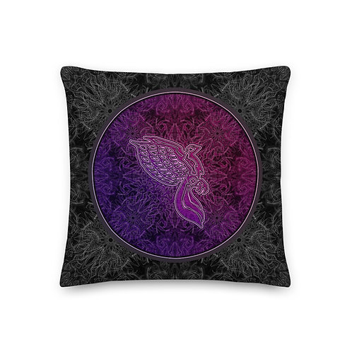 The Dove Lavenrose Portal Premium Pillow