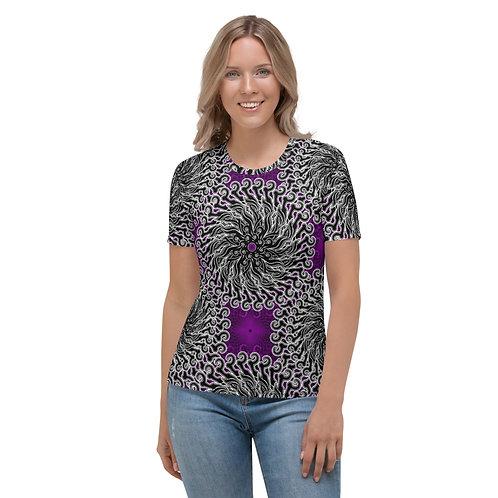11LL21 Oddflower Cantuta Women's T-shirt
