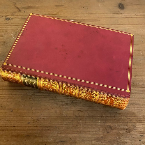 Longfellow's Poetical Works Leather Bound