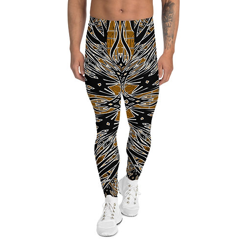24J21 Oddflower Sunflower Men's Leggings