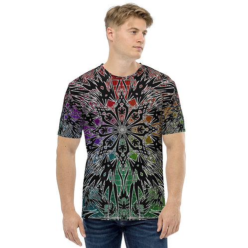 24M21 Oddflower Paradise Men's T-shirt