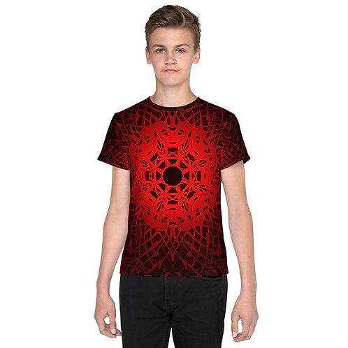 1V21 Spectrum Red Youth T-Shirt