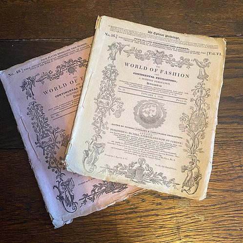 World of Fashion Pamphlets 1828