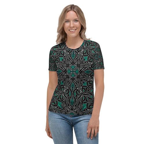 19K21 Oddflower Jade Vine Women's T-shirt