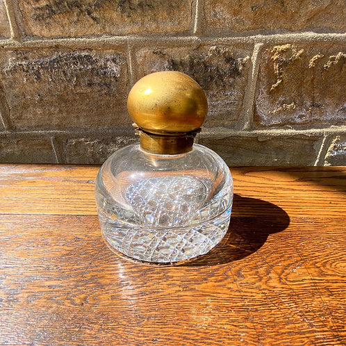 Large Victorian Partners Inkwell