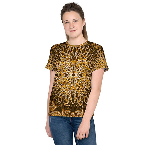 9W21 Spectrum Gold Youth T-Shirt