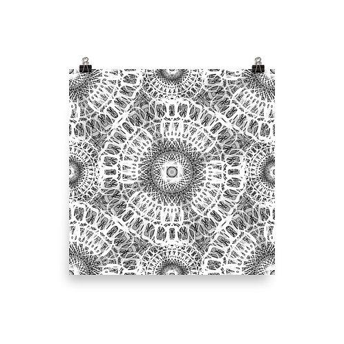 210A Oddflower Tile 2021 | Matte finish Print
