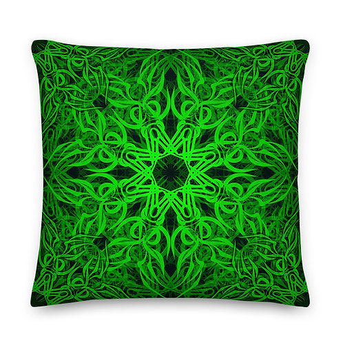 19D21 Spectrum Emerald Premium Pillow