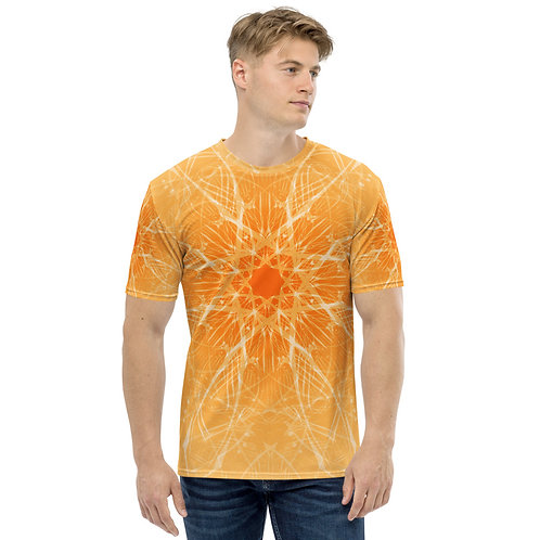 15 3B Musical Snowflake GY Men's T-shirt copy