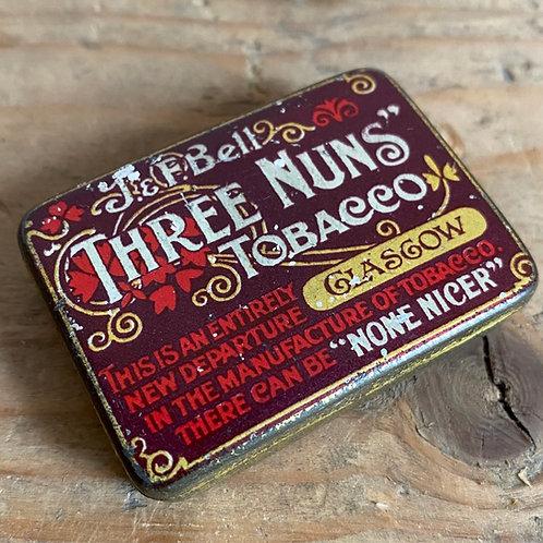 Three Nuns Tobacco Matchstriker Tin