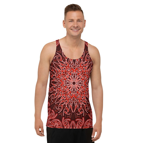 9V21 Spectrum Red Unisex Tank Top