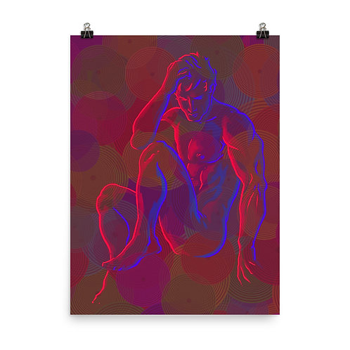 The electric Men 6 Matte Finish Print