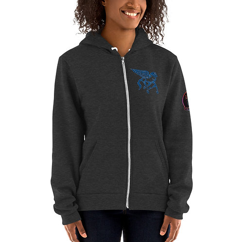 Pegasus Nimbus Blue Portal Hoodie sweater