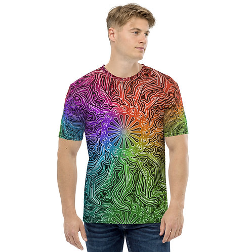 16R21 OddSpectrum Colorwild Men's T-shirt