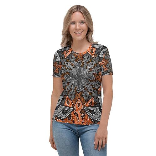13I21 Oddflower Poppy Women's T-shirt