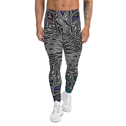 143321 Oddflower Ocean Men's Leggings