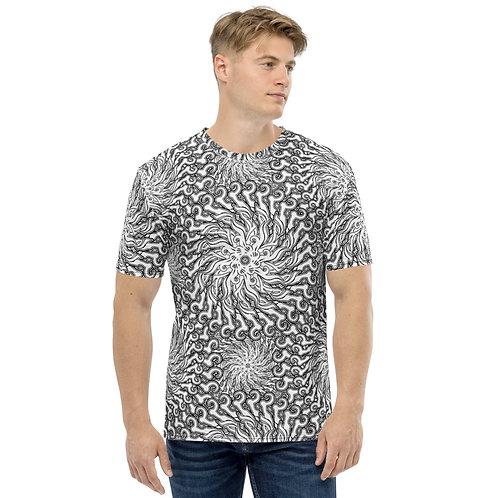 11H21 Oddflower Lily Men's T-shirt
