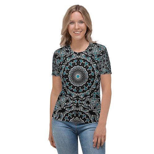 23K21 Oddflower Jade Vine Women's T-shirt