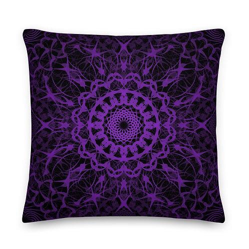 23F21 Spectrum Amethyst Premium Pillow