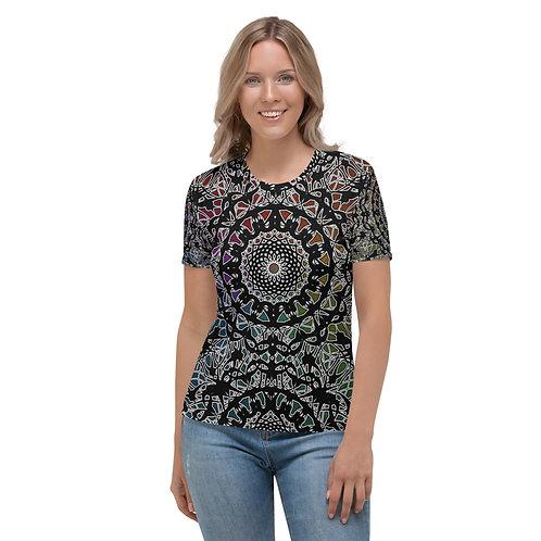 23M21 Oddflower Paradise Women's T-shirt