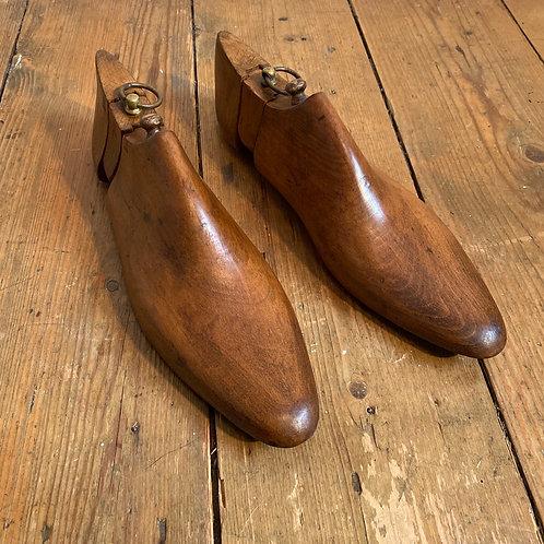 Antique Wooden Shoe Trees