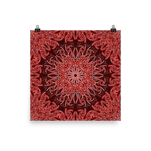 9V21 Spectrum Red | Matte finish Print