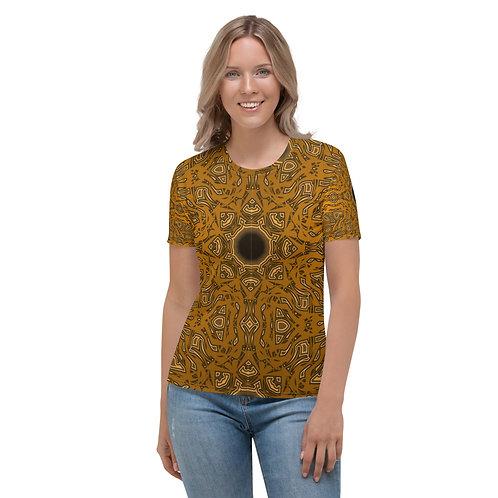 6W21V1 Spectrum Gold Women's T-shirt