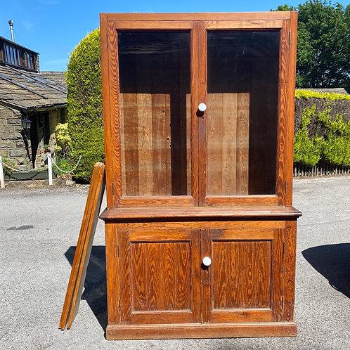 Pitch Pine Kitchen Cabinet