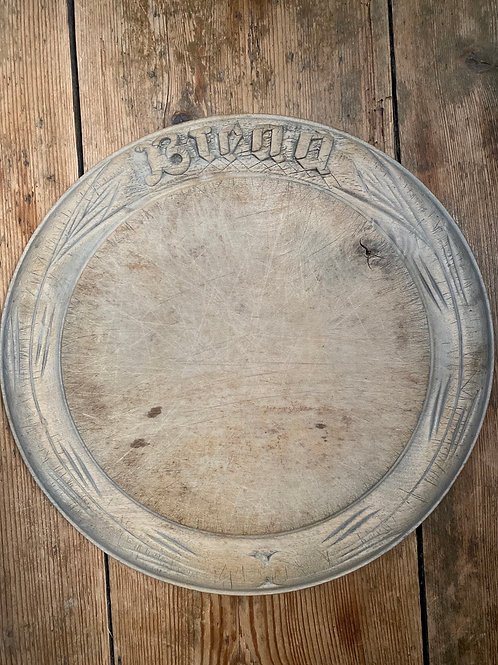 Antique Sycamore Bread Board