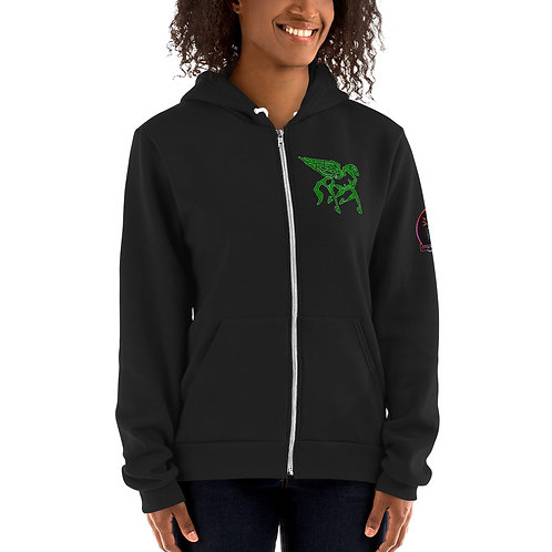 Pegasus Emerald Portal Hoodie sweater