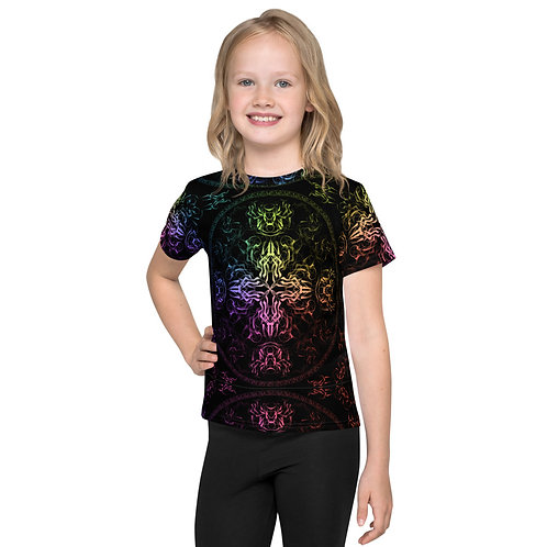 140 Wind Compass Colorwild Kids T-Shirt