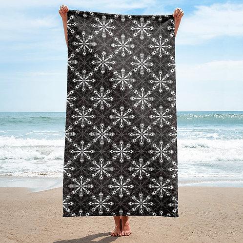 31 4M Q&I Snow Storm Towel