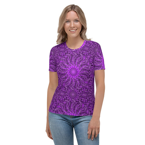 16Q21 OddSpectrum Violet Women's T-shirt