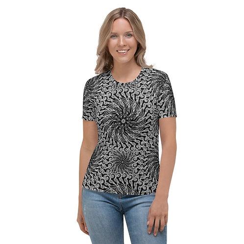 11G21 Oddflower Dahlia Women's T-shirt