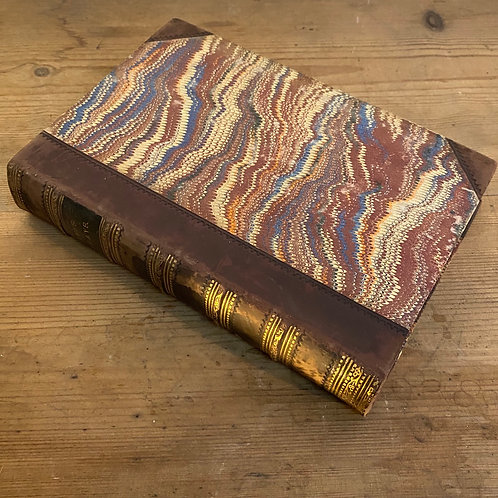 Hume's Essays Leather Bound