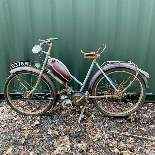 Early Raleigh Moped